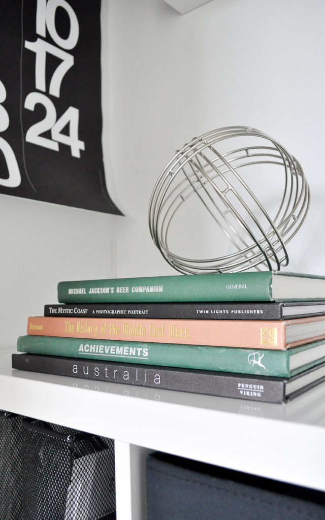 DIY book hack using thrifted books