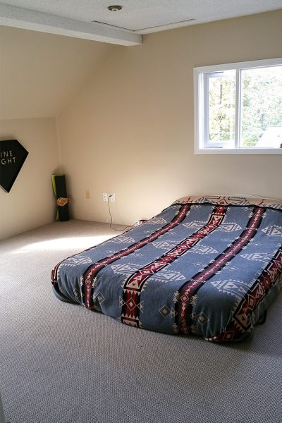 Budget but Beautiful before photo. A $300 bedroom makeover on a budget.