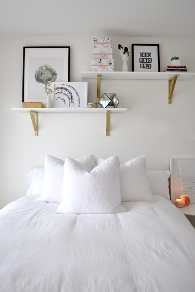 Budget but Beautiful Room Reveal. How to make over a bedroom on a budget
